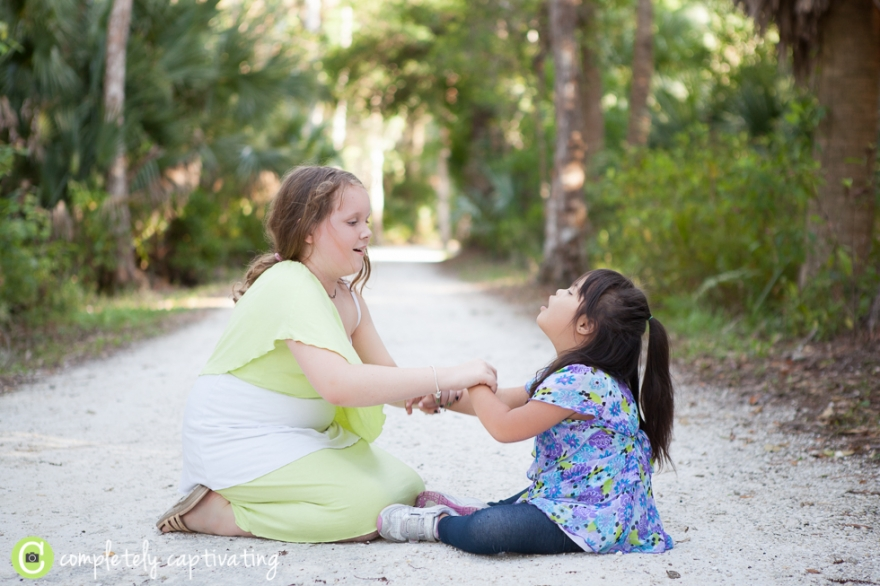 down syndrome family session south florida jupiter