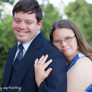 down syndrome engagement session, okeeheelee park