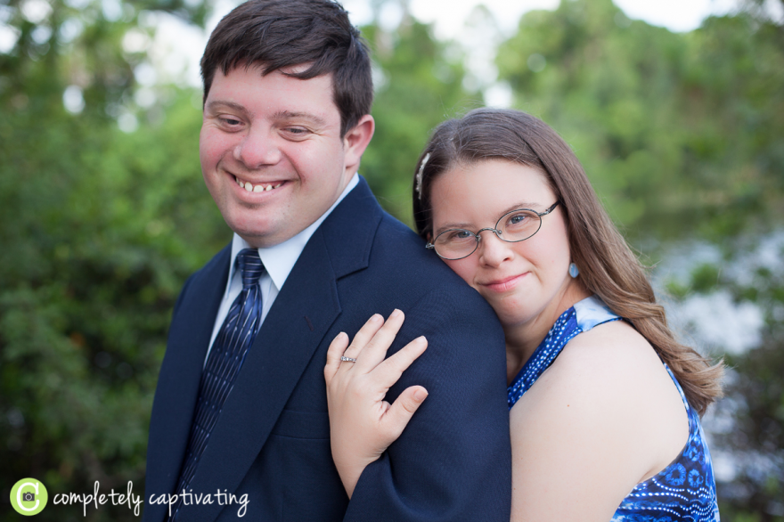 down syndrome engagement session, okeeheelee park west palm beach florida