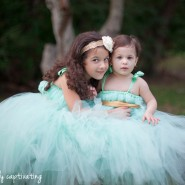 little girls, sisters, matheson hammock, blue tutu, princess dresses, tulle dresses