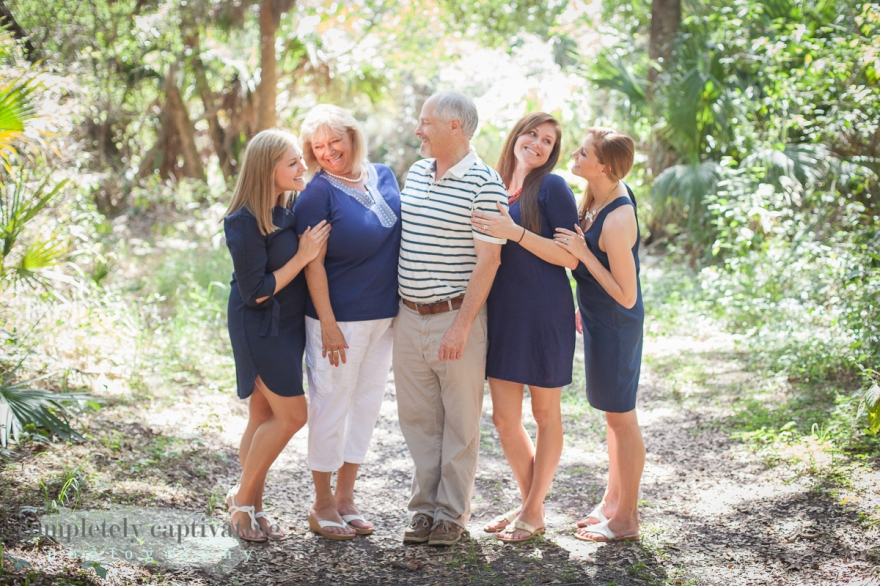palm beach extended large family portrait session