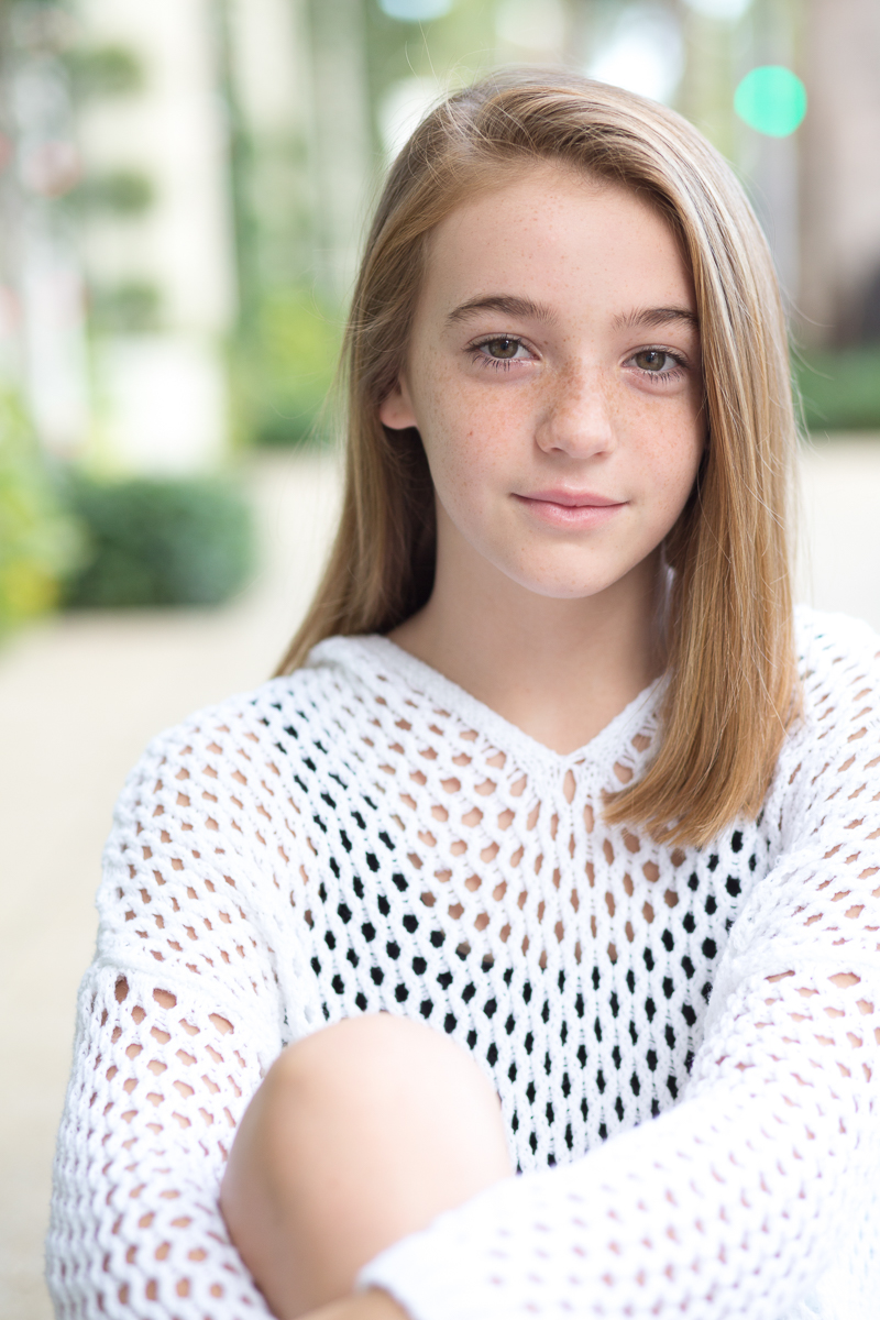 palm beach pre-teen actor dance head shots worth avenue