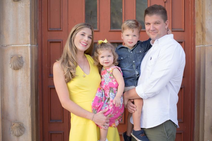 downtown west palm beach family portrait session